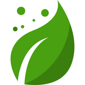 eco-friendly leaf icon