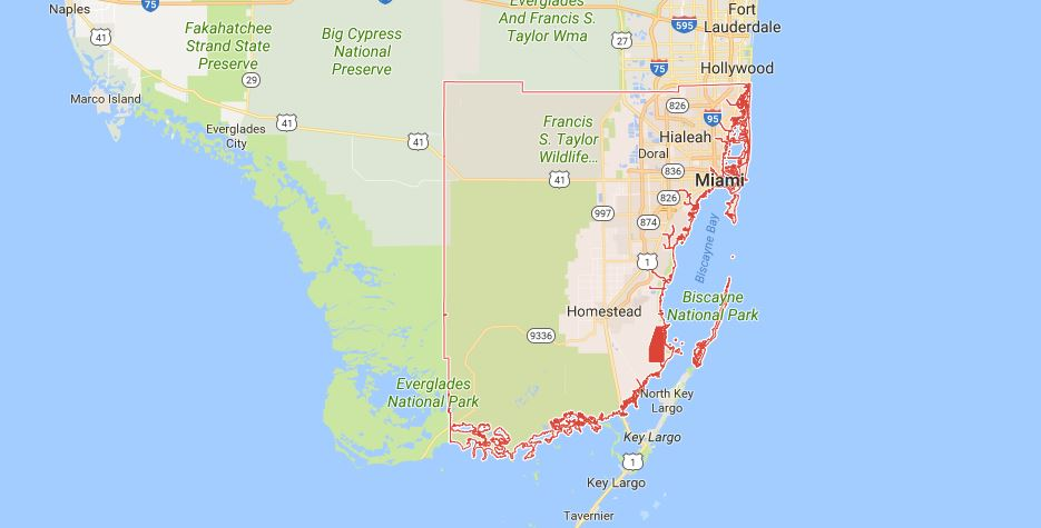 Pest Control Service Areas